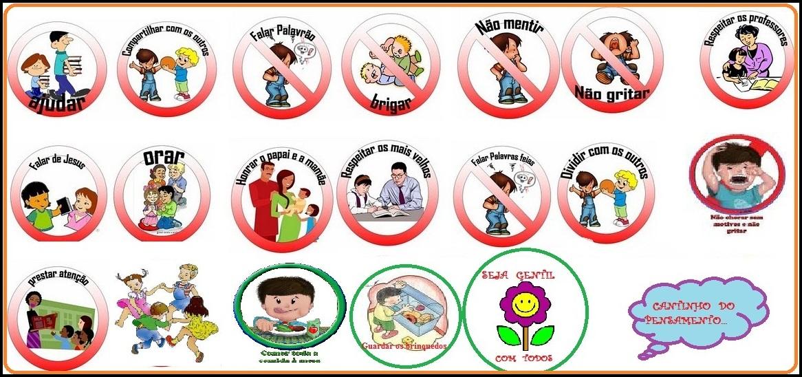 Regras Para As Criancas Para Imprimir Luanna Pimentel